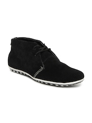 Engross Men Black Merrel Suede Casual Shoes