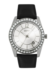 Esprit Women Silver Toned Dial Watch