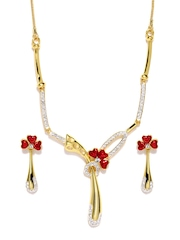 Estelle Gold Plated Jewellery Set