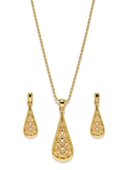 Estelle 24-carat Gold-Plated Jewellery Set