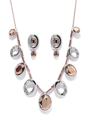 Estelle Silver-Plated & Rose Gold-Plated Jewellery Set