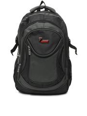 F Gear Unisex Grey & Black Devil Backpack