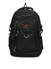 F Gear Unisex Black Urban Backpack