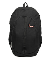 F Gear Unisex Black Backpack