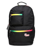 F Gear Unisex Black Laptop Bag