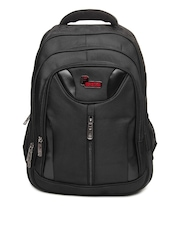 F Gear Unisex Black Life Backpack
