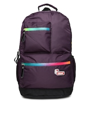 F Gear Unisex Purple Laptop Bag