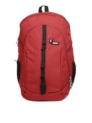 F Gear Unisex Red Backpack