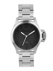 French Connection Men Black Dial Watch FC1162BSMGJ