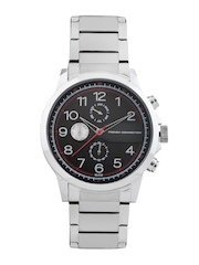 French Connection Men Black Dial Watch