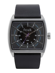 FCUK Men Brown Dial Watch