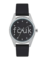 French Connection Women Black Dial Watch FC1009BWN