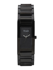 FCUK Women Black Dial Watch