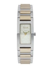 FCUK Women Muted Gold Toned Dial Watch