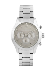 French Connection Women Silver Toned Dial Watch
