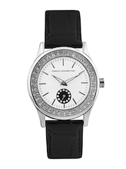 FCUK Women Silver Toned Dial Watch