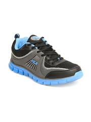 Fila Men Black & Blue Cannon Sports Shoes