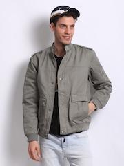 Fila Men Grey Convi Padded Jacket