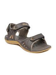 Fila Men Brown Ivory Sports Sandals