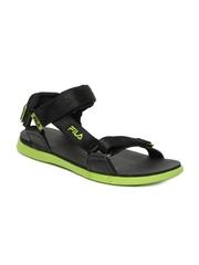 Fila Men Black Ark Sports Sandals