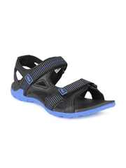 Fila Men Black Warner Sports Sandals