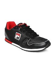 FILA Men Black Jog 7 Jogger Shoes
