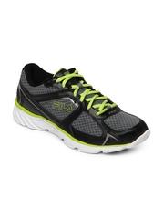 Fila Men Grey & Black Memory Endeavor Sport Shoes
