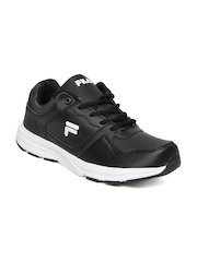 Fila Men Black Lite Runner Sports Shoes