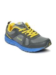 Fila Men Grey Miles Running Shoes