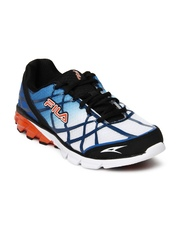 Fila Men Blue & White Dimension Track Energized Running Shoes