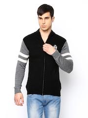 FILA Men Black Cobs Sweater