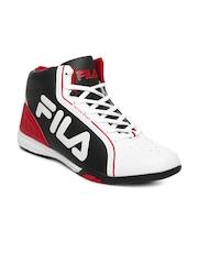 FILA Men White & Black ISONZO Motor Sport Shoes