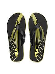 FILA Women Black Flip Flops