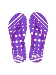 FILA Women Purple Flip-Flops