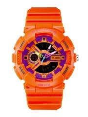 FLUID Unisex Analogue & Digital Watch DMF-004-OR01
