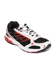 FLX Men Black & White Para Trainer Sports Shoes