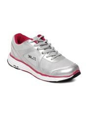 FLX Men Silver Toned Mercurial Sports Shoes