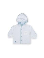 FS Mini Klub Infant Boys Blue Hooded Striped Jacket