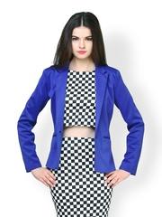 FabAlley Women Blue Blazer