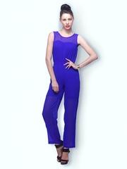 FabAlley Women Blue Jumpsuit