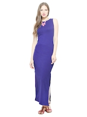 FabAlley Blue Maxi Dress