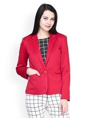 FabAlley Women Red Blazer