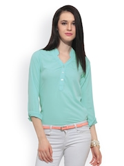 FabAlley Women Blue Top