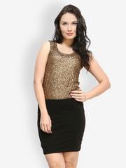 FabAlley Women Golden Top