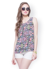 FabAlley Women Multi-Coloured Printed Top