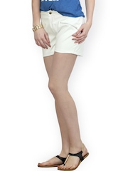 FabAlley Women White Shorts