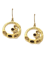 Fabindia Ananya Gold Toned Drop Earrings