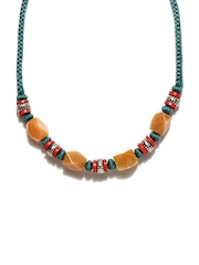 Fabindia Green & Brown Necklace