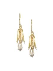 Fabindia Anusuya Gold-Toned Drop Earrings