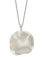 Fabindia Ananya Silver Pendant with Chain